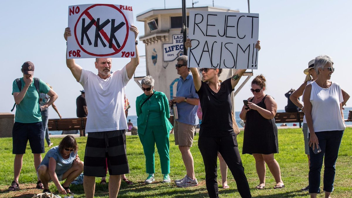 Right-wing rally planned for Laguna Beach sparks backlash, counter-demonstration against racism