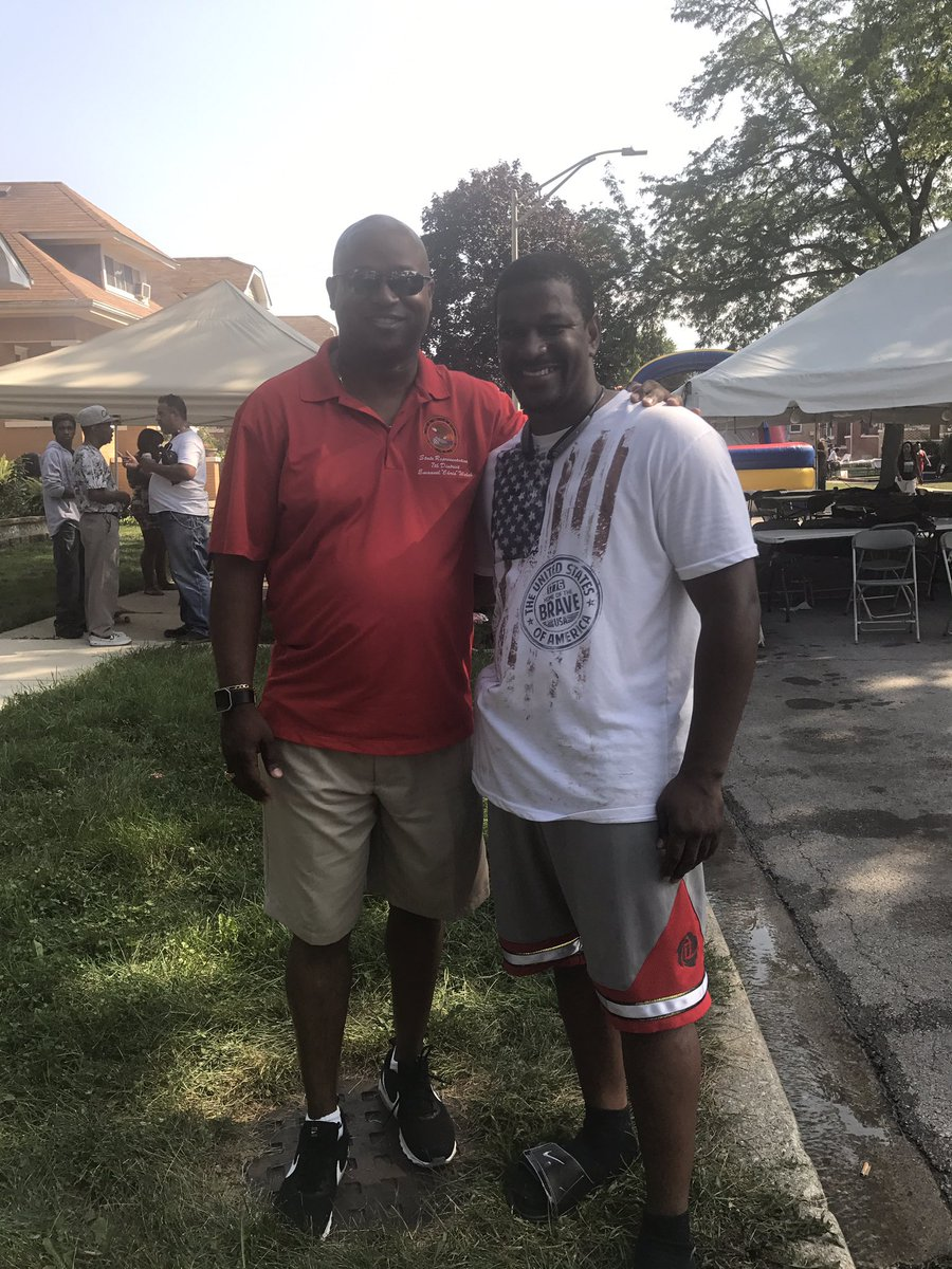 test Twitter Media - Enjoyed stopping by the 22nd Ave Block Party in Bellwood! Good seeing my friend Tyreese Stafford making the family #FunAroundthe7th happen! https://t.co/uaMZ1hGrzb