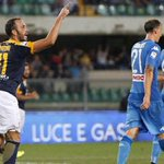 Verona-Napoli 1-3, Pazzini di rabbia dopo il gol