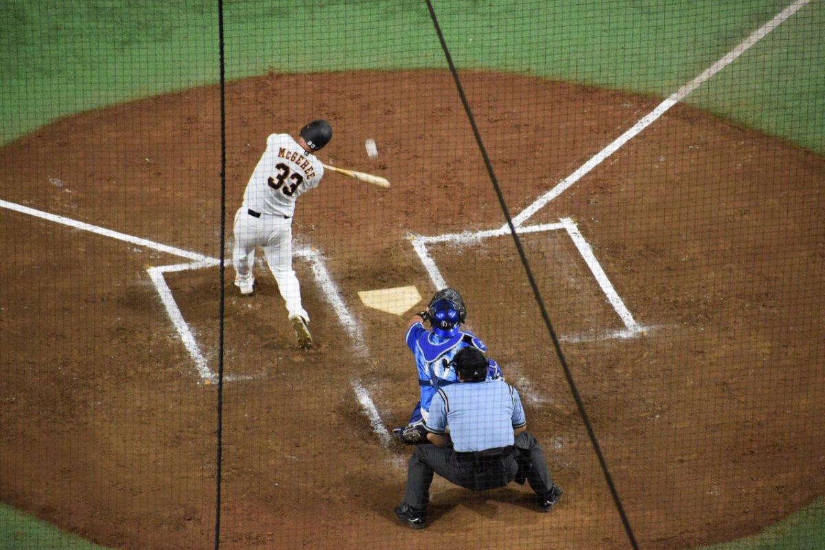 マギちゃんの満塁弾の瞬間❤️💕#ケーシーマギー#グランドスラム#満塁弾#満塁ホームラン#読売ジャイアンツ