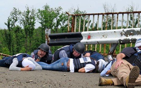 RT @APGorin: ОБСЕ на Донбассе... Чего они боятся, ведь  ...