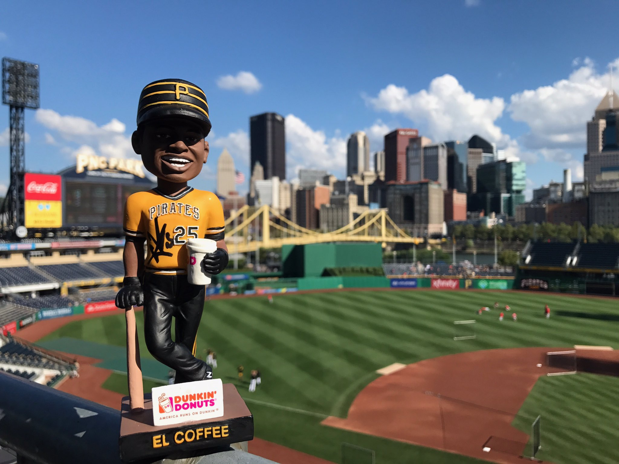 RETWEET THIS for a chance to win a SIGNED Gregory Polanco bobblehead! ��☕️ https://t.co/hgAK9WS3z6