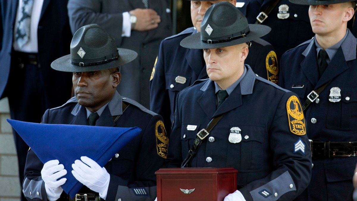 Funeral held for Virginia trooper killed in Charlottesville copter crash
