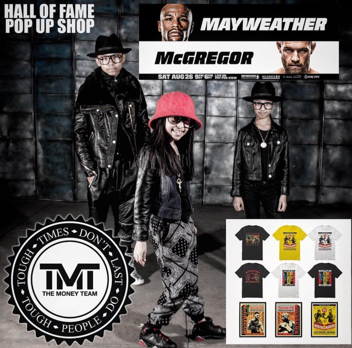 test Twitter Media - Don't miss @CTFBCREW on the turntables today at @HallofFameLTD at the #MayweatherMcGregor pop up shop in #LA. https://t.co/Cm3YMBtlRW