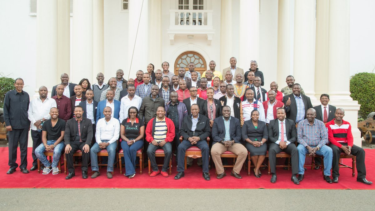 Don't allow power to get into your head, Uhuru tells pioneer Nairobi leaders