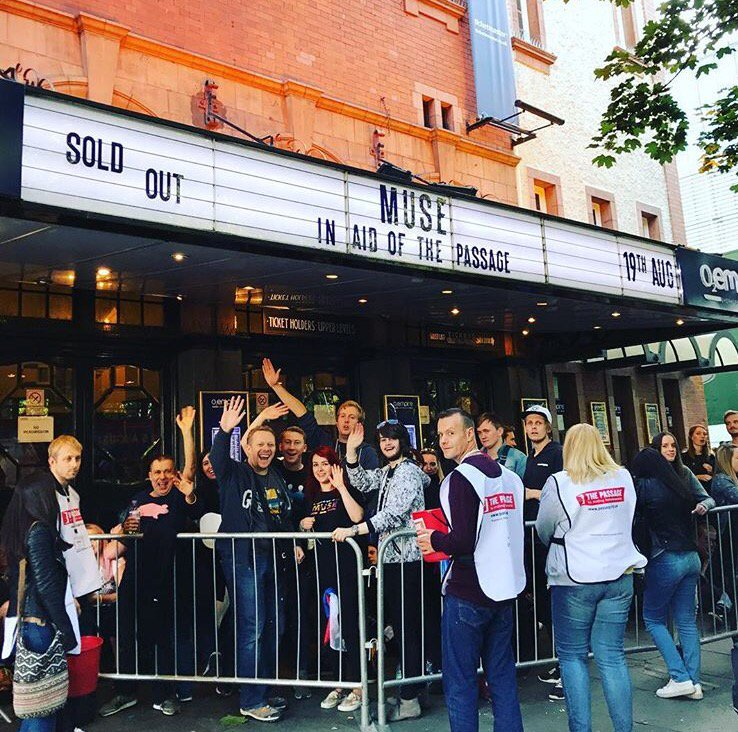 Very excited for the show tonight in Shepard's Bush Empire. We will be live streaming on Instagram... https://t.co/2T8mEiK9m7