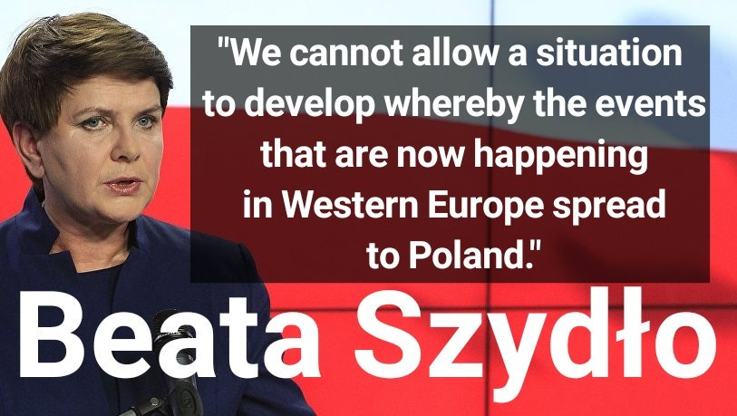 RT @V_of_Europe: Here's why Poland's PM will not accept Islamic migration: https://t.co/AKQZu9LTF5