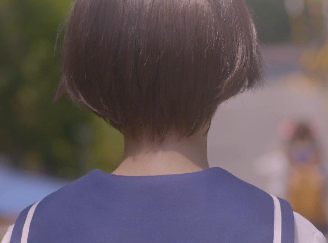ドラマ「咲-Saki-」第3局を見ると咲のうなじアップが見れちまうんだ!ショートカットならではの貴重な映像だじぇ#咲実写