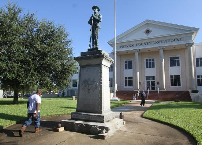 Putnam monument quietly avoids controversy — for now