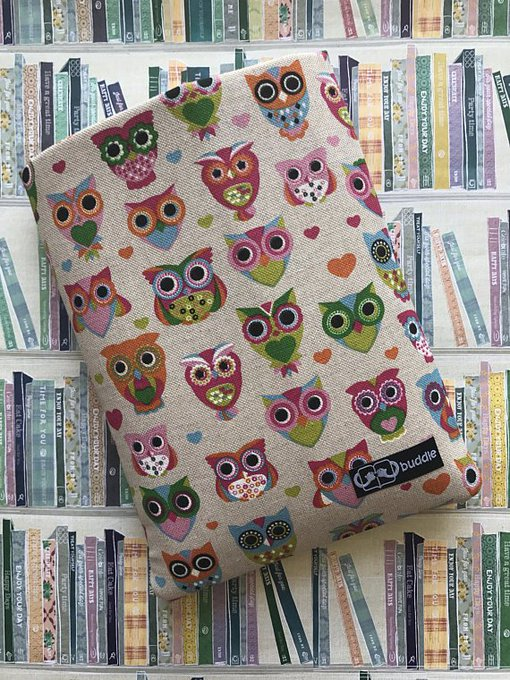 Buddle Owl Book Sleeve & Book of Choice Giveaway