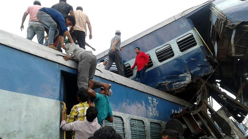 Train derailment kills several passengers in India's Uttar Pradesh