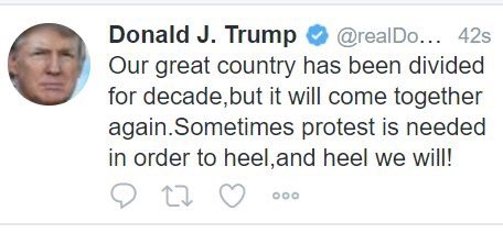 RT @rob_bennett: Oh man. Trump just deleted this tweet. 🤦🏼♂️  h/t @colincampbell https://t.co/Cj6VDUbgEl