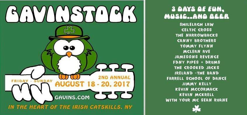 test Twitter Media - Gavinstock began last night! Best of Irish rock and just a couple of hours away in Catskills. Full day tomorrow! @gavinsinn https://t.co/wlckHPR9Mq