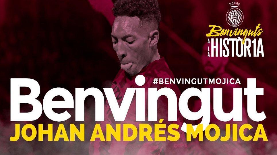 Johan Mojica jugará junto a Marlos Moreno y Bernardo Espinosa en Girona.  Detalles:   https://t.co/BOO7pN3DJG https://t.co/N6j6PmDwhz