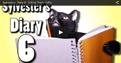 Talking Kitty Sylvesters Diary 6 - Killing Them Softly https://t.co/EHH8mf3xDl Sylvester the Talking Ca #video 5 https://t.co/JW2lF8qnl9