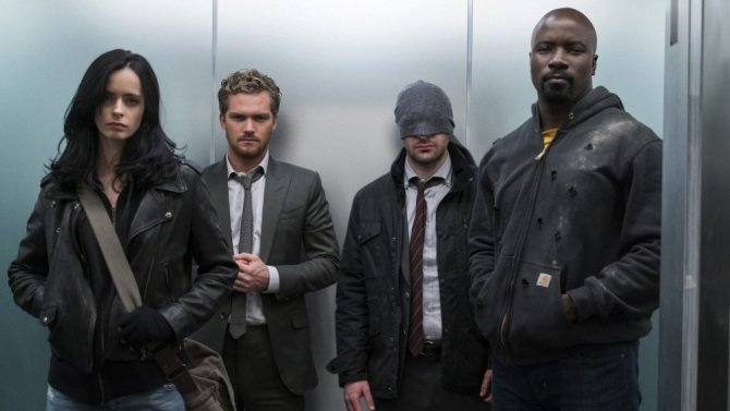 Are you binge watching @Marvel's TheDefenders on @netflix this weekend?
