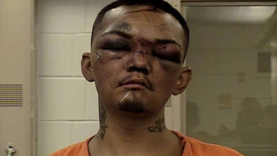Mugshot reveals what happens when you try to carjack 3 football players