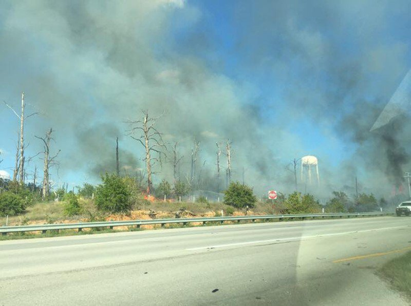 Bastrop wildfire closes portion of Texas 71; evacuations in effect