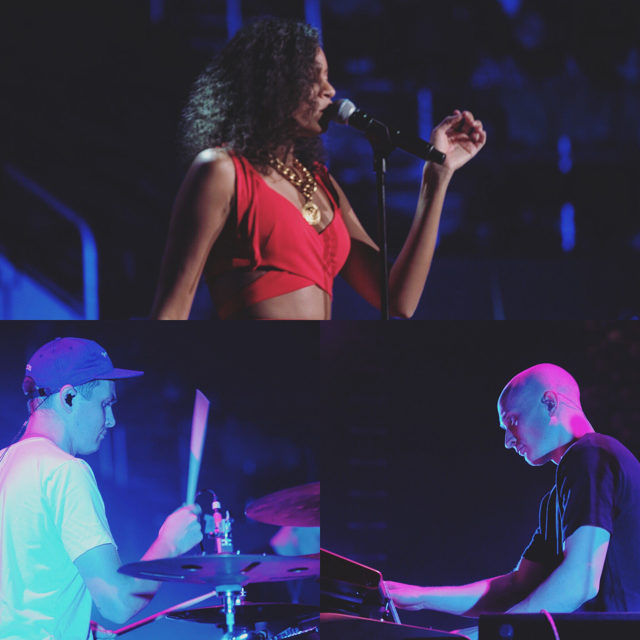 AlunaGeorge. R42 #ColdplayCleveland #Coldplay https://t.co/BPvUKTyn9L