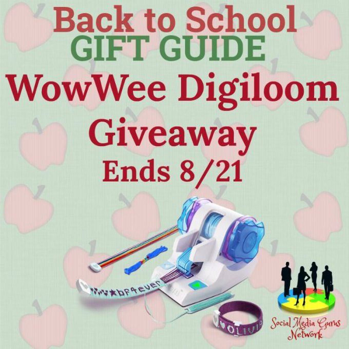 WowWee Digiloom Giveaway Ends 8/21 @WowWeeWorld @SMGurusNetwork