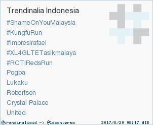 Trend Alert: #RCTIRedsRun. More trends at https://t.co/OMCuQPRWwL #trndnl https://t.co/8ZyvFtb0fV