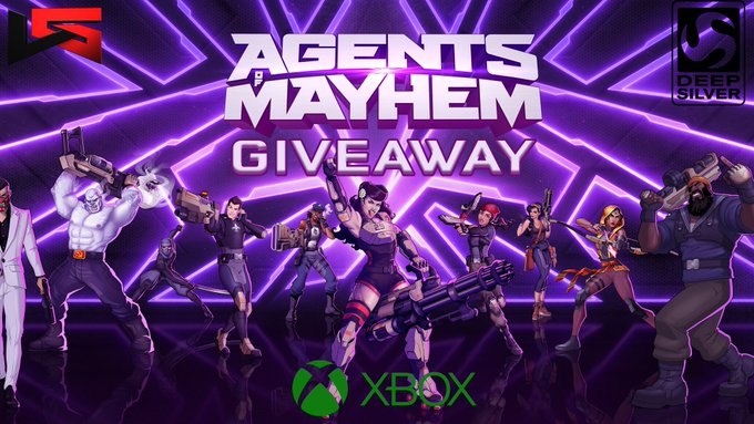 Agents Of Mayhem Xbox One Code Giveaway