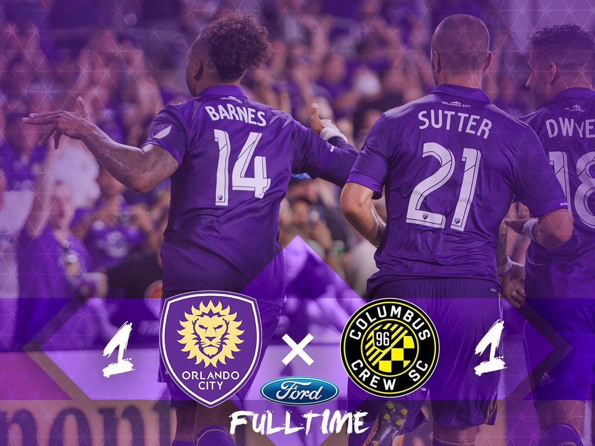 RT @OrlandoCitySC: Quality effort from the lads to push to the very end. #ORLvCLB https://t.co/yj7FAbI2Lh