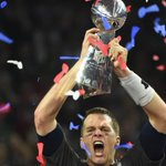 The Patriots found Super Bowl confetti at NRG Stadium in Houston