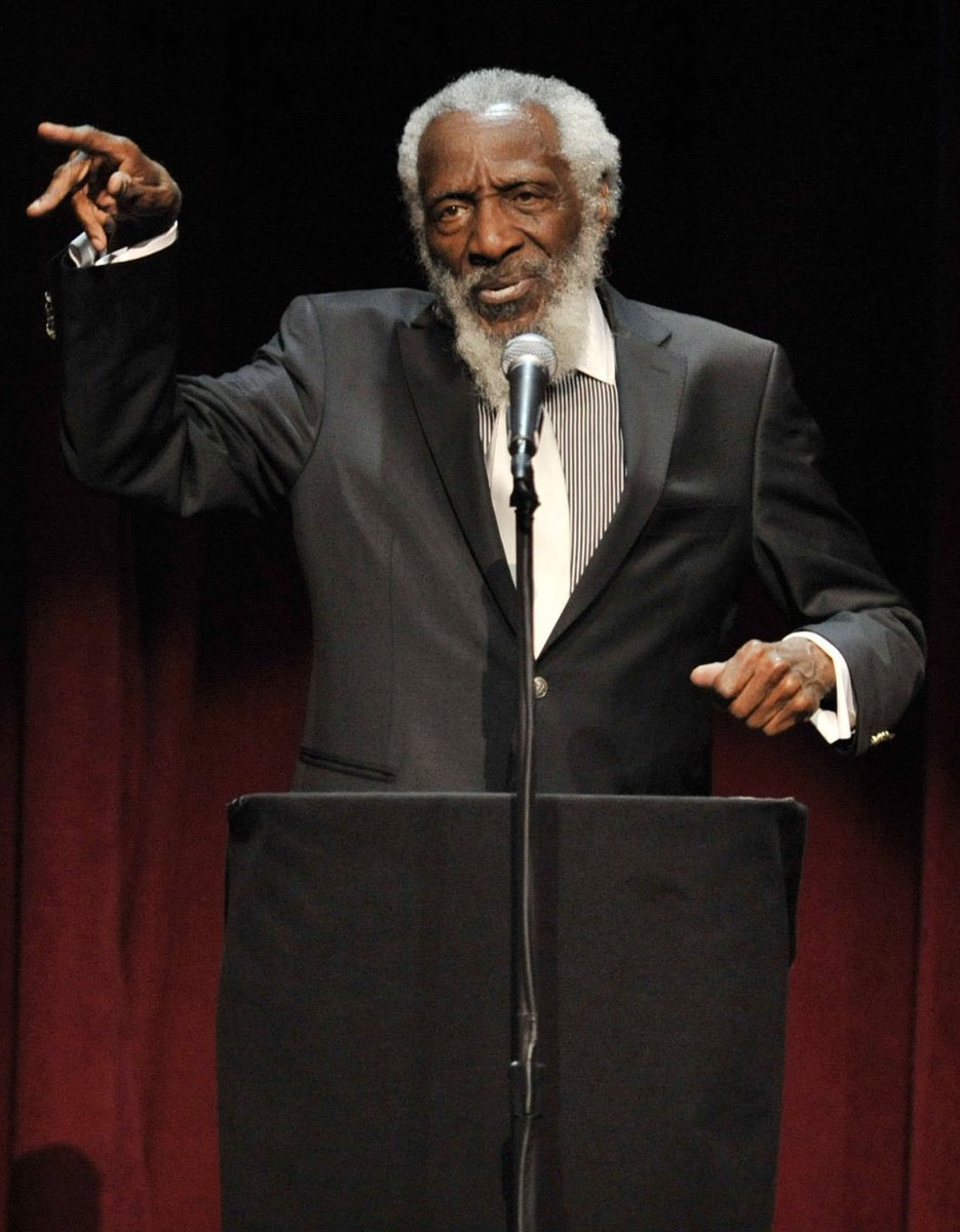 RT @TheRickyDavila: Rest In Peace to civil rights icon Dick Gregory. An inspiration. A hero. 🙏 https://t.co/kIzeYMNjor