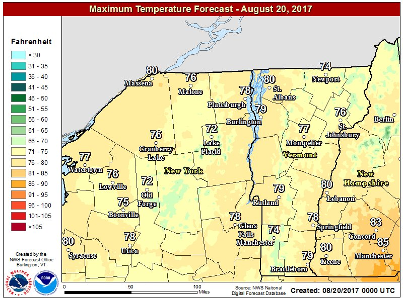 test Twitter Media - A very pleasant Sunday is expected across the North Country with mostly sunny skies, warm temperatures, and lower humidity levels. Enjoy. https://t.co/gNmZoaz1aq