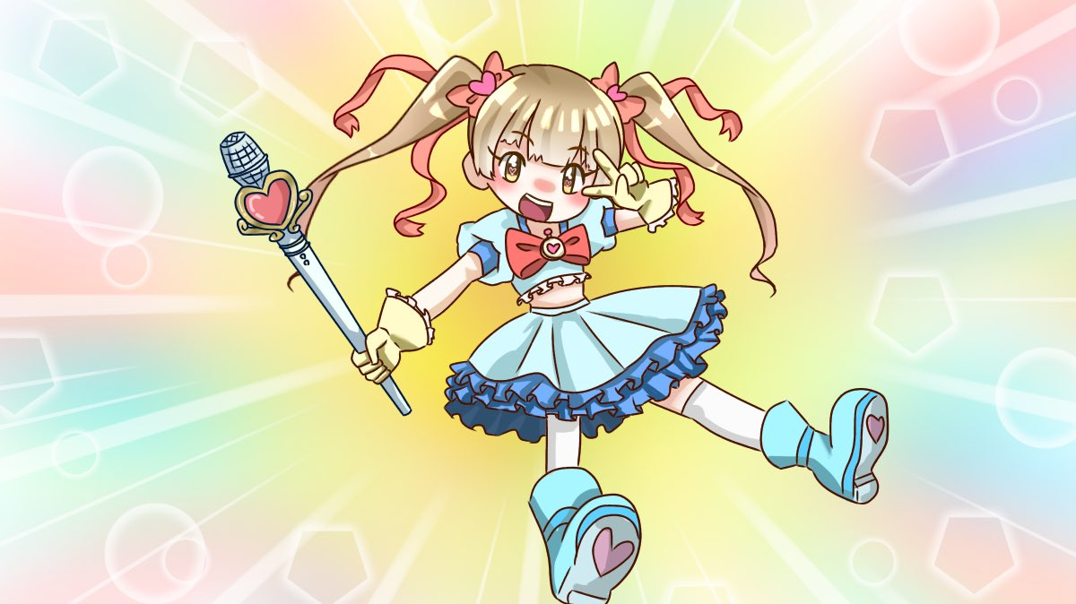 俺妹の星くずうぃっちメルルのトレスで横山千佳描きました。SSRはよ。