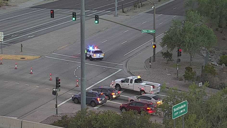 just in police say suspicious package found at scottsdale rd near