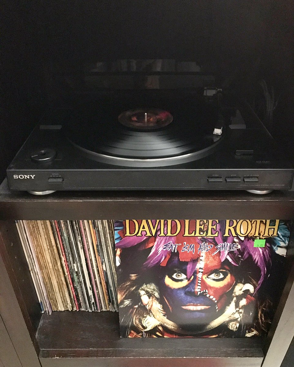#np David Lee Roth - Eat 'Em And Smile. #vinyl #vinylcollection #vinyladdict #davidleeroth #DLR #eatemandsmile https://t.co/npMZYWz0wZ