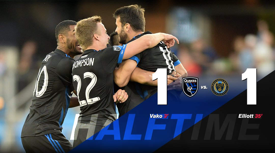 HT: No one said it would be easy. 👊  #ForwardAsOne | #SJvPHI https://t.co/MX8fci0Dwz