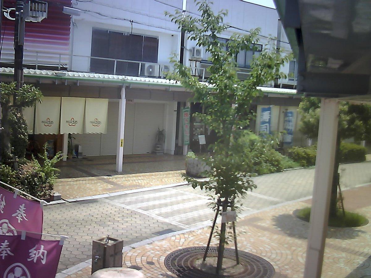 竹原駅前商店街たまゆら桜カメラ投稿時刻は 2017-08-20_12:30:03です。気温は、31.4℃くらいです...