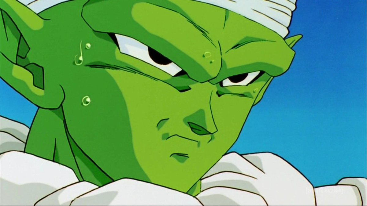 "Obligatory ""This show is green as fuck"" tweet. #DBZKai https://t.co/c7EdRC6t4I"