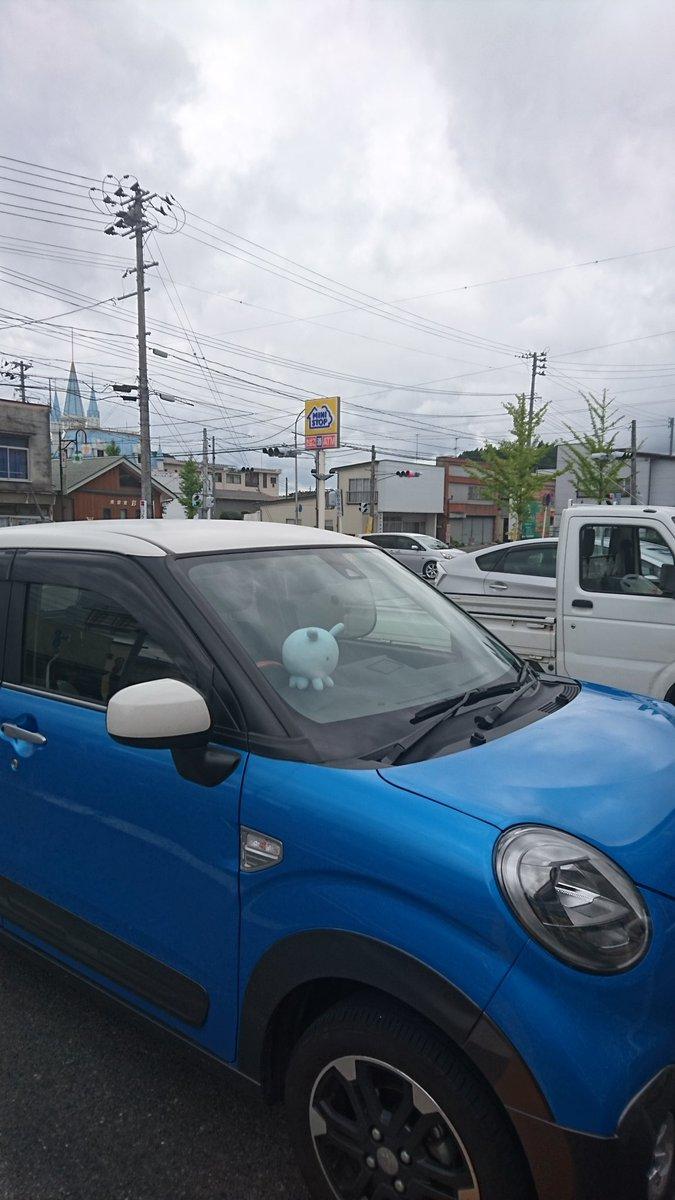 突然ですが、ここは福島県田村郡小野町。いわきまでのドライブの途中であります。#プレアデス