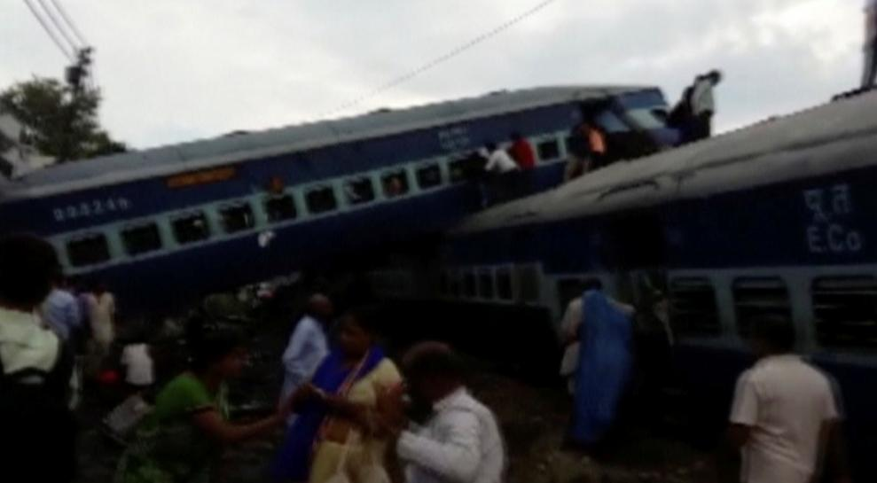 India investigates after fourth big train accident in past year kills 23