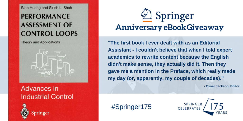 "test Twitter Media - #Springer175 giveaway! RT & follow for chance to win ""Performance Assessment of Control Loops"" T&C:https://t.co/hBgE1jj0k8 @SpringerControl https://t.co/2M3qHKPt9L"