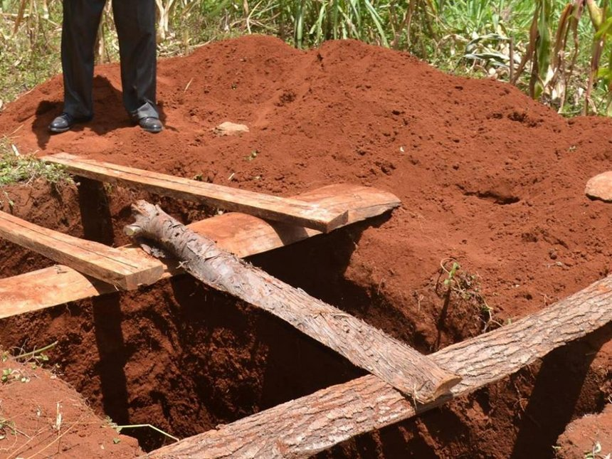 Woman, son face charges after illegally burying husband