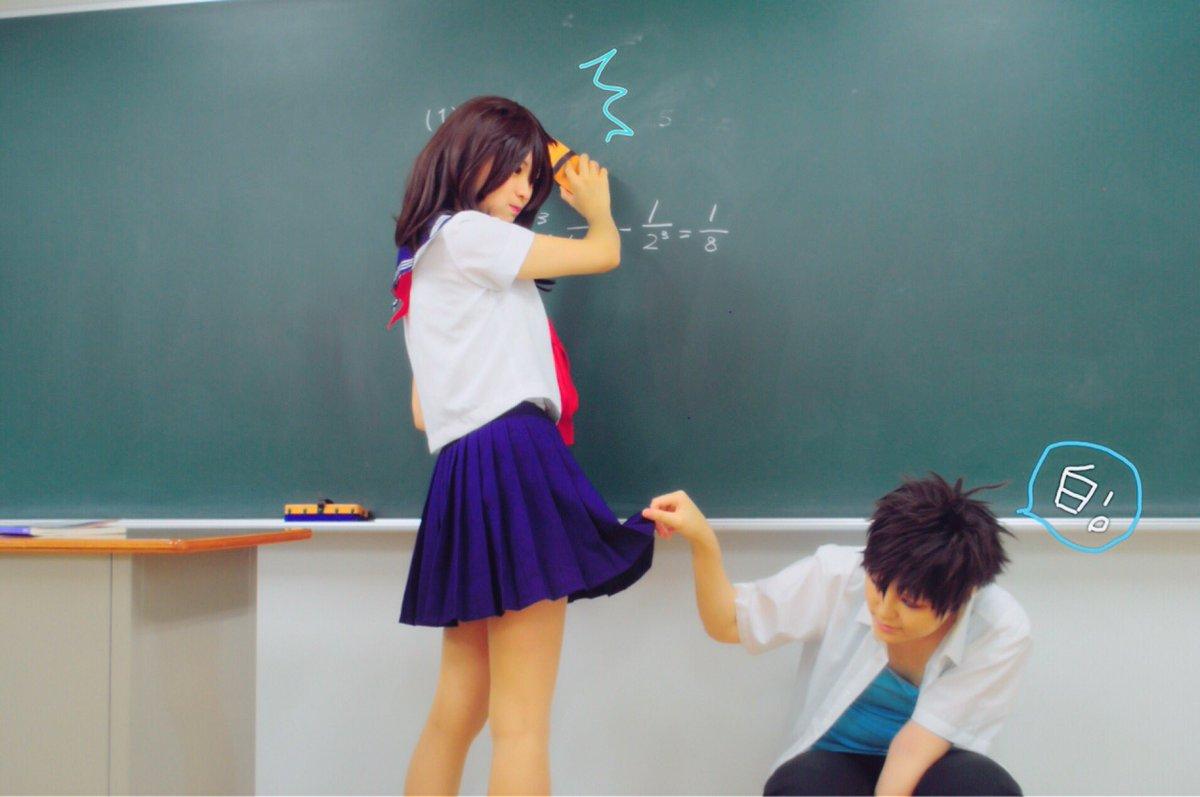 まじっく快斗「白はいいよ、清潔で♡」快斗:ウズさん(  )青子:黒猫。