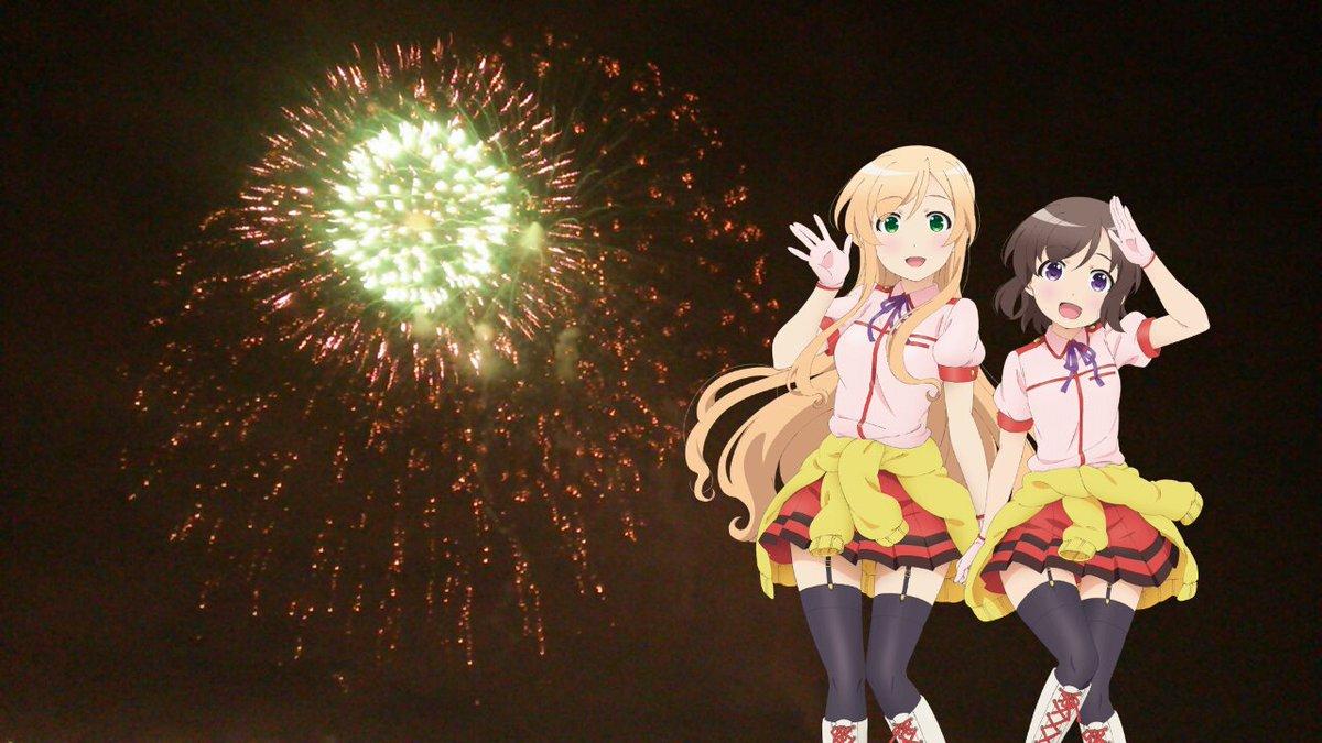 空を覆うような大きな綺麗な花火だよっ☆ #流山花火大会 #locodol #butaimeguri