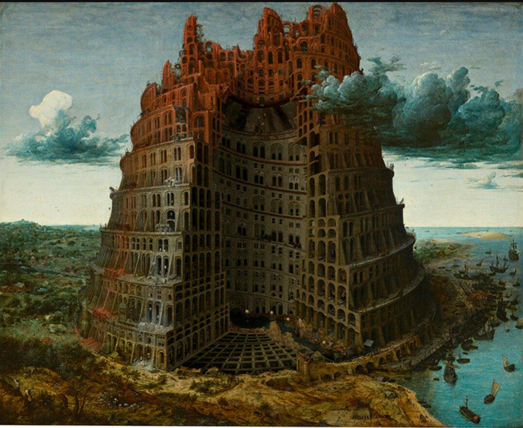 『バベルの塔』展なかなか面白かった、今日は音声ガイドもレンタルして説明を聴きながら観たから良く理解できた、大友克洋さんが
