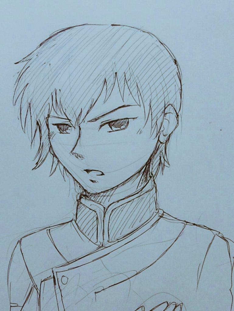 > 鉄血のオルフェンズのアイン・ダルトンくん。  #odaibakoなんかすみません、、