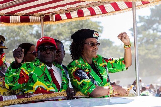 Zimbabwe First Lady flies home, leaving S. Africa assault case
