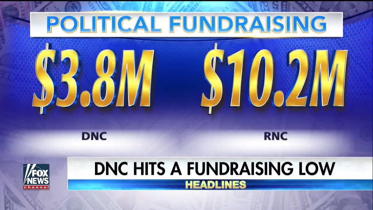 DNC hits a fundraising low. https://t.co/w46fAbKsdB