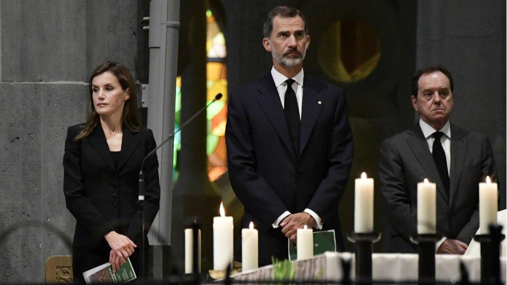 Spain honours terror victims in solemn mass at Barcelona's Sagrada Familia