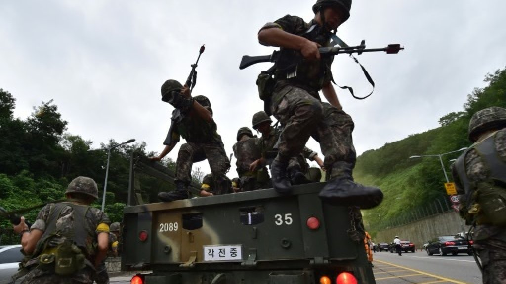 North Korea slams upcoming joint US-South military exercises