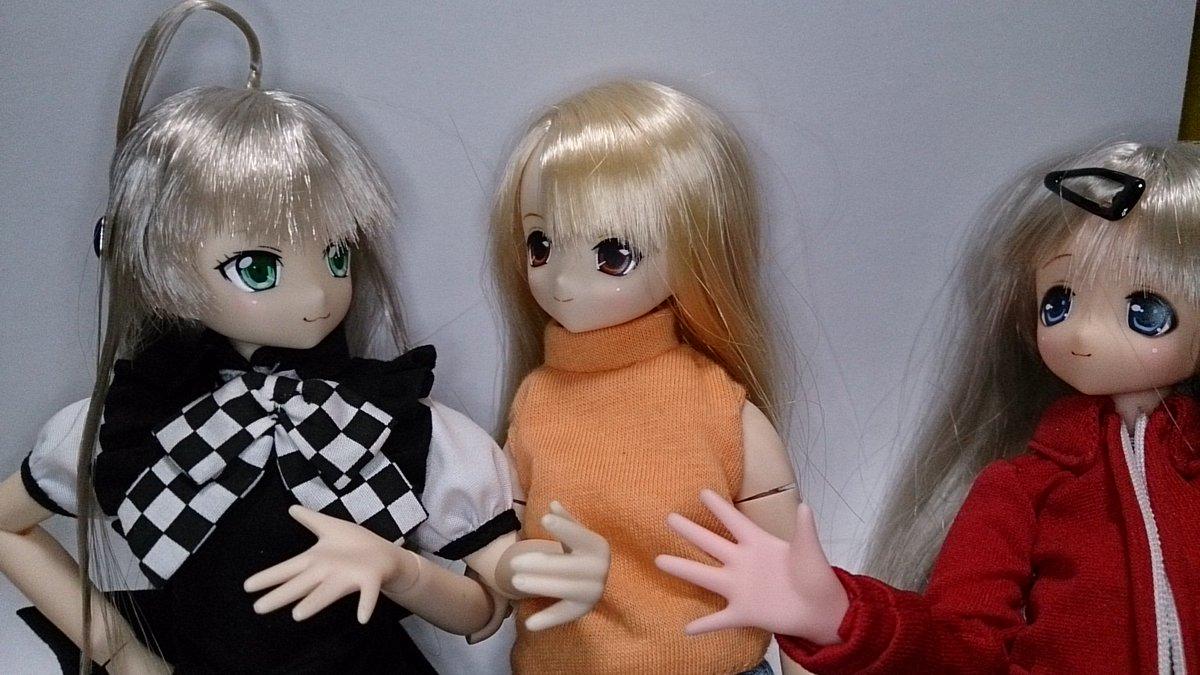 リセ「やっとニーモの白肌仲間来てくれたのね」ニャル子「ニャニャッ、今まで肌色だけだったと?」リセ「そうそう、肌色だったり