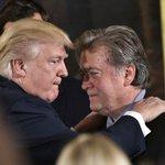 Trump eenzamer dan ooit na vertrek Bannon